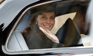 La Duquesa de Cambridge de vuelta en Londres para recibir a su tercer bebé