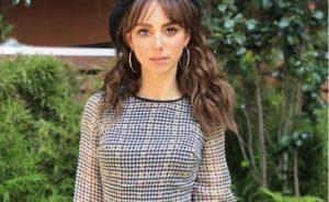 Natalia Téllez hace su debut en cine
