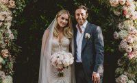 Se casó por segunda ocasión la actriz Claire Holt