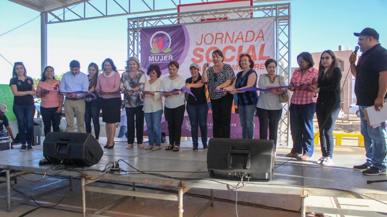 Nutrida asistencia en la Jornada Social para las Mujeres