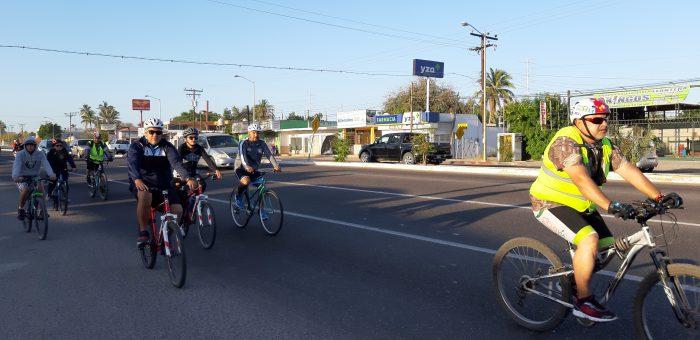 Buena respuesta al Paseo Ciclista