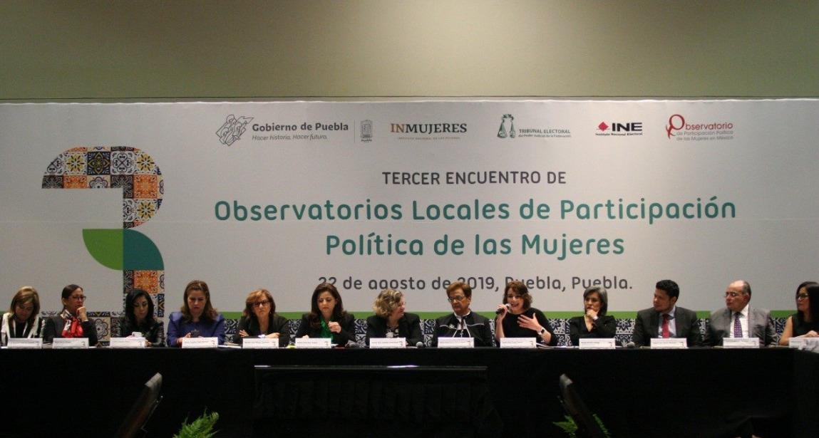 IEEBCS asiste al Tercer Encuentro de Observatorios Locales de Participación Política de las Mujeres.