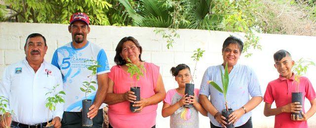 El programa municipal ¨Planta Tu Árbol 2019¨ en la comunidad de El Chicharrón