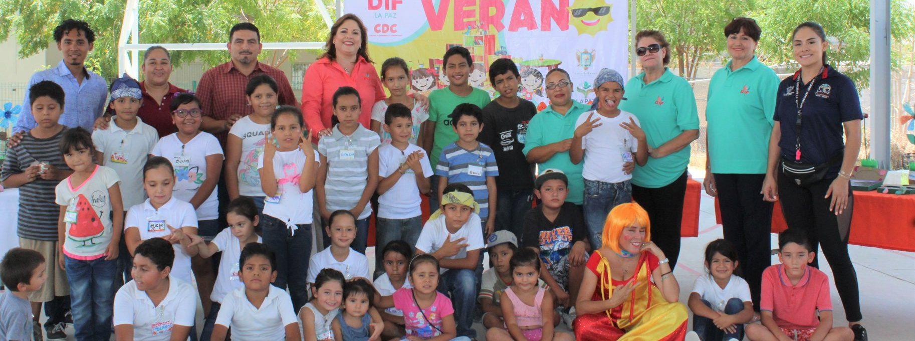Finalizan los talleres de verano en Sistema Municipal DIF La Paz