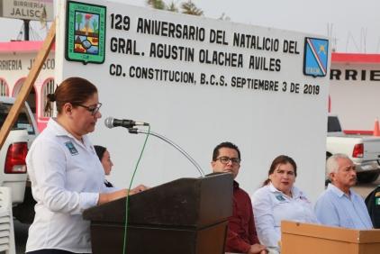 Rinden guardia de honor en el 129 Aniversario de Natalicio del Gral. Agustín Olachea1