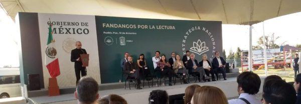 Realizan cuarta edición deFandangos por la lecturaen Amalucan, Puebla